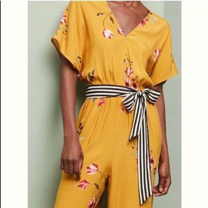Anthropologie Pants - NWT Anthropologie CoreyLynnCalter floral jumpsuit